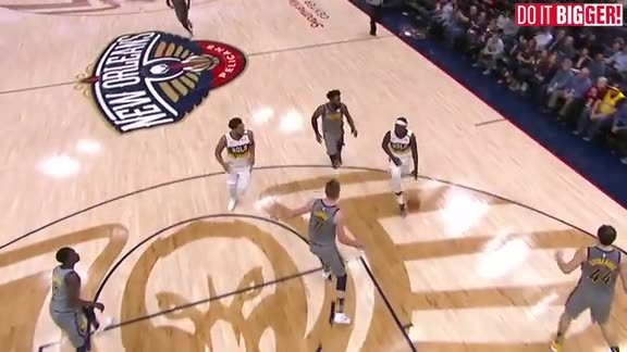 New Orleans Pelicans Highlights vs. Indiana Pacers 02-04-19