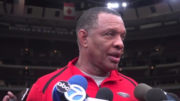 Pelicans Shootaround: Head Coach Alvin Gentry 2-6-19