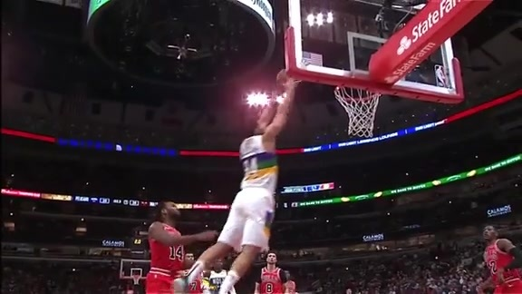 Alley-oop Slam for Kenrich-Williams | Pelicans at Bulls Highlights