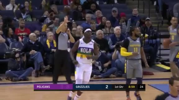 Jrue Holiday With 15 vs Memphis Grizzlies | Pelicans-Grizzlies Highlights