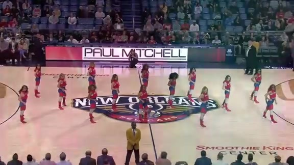 Pelicans Dance Team Second Half Performance 02-12-19