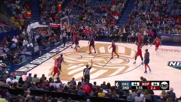 New Orleans Pelicans Highlights: Top 3-pointers vs. Thunder
