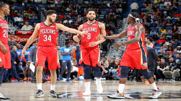 Game Highlights: New Orleans Pelicans vs. Oklahoma City Thunder