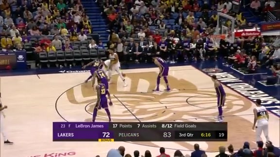 Jrue Holiday puts up 27 against the Lakers | Pelicans vs. Lakers Highlights