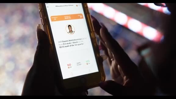 Pelicans fans introduced to Hotstreak prediction app at recent game