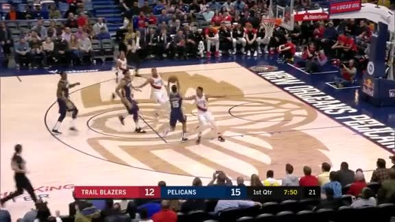 New Orleans Pelicans Highlights vs. Portland Trail Blazers