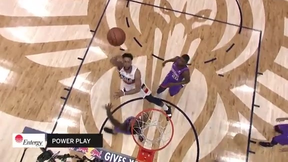 Jahlil Okafor strong post moves | Pelicans vs. Suns Highlights