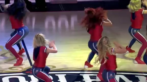 Pelicans Dance Team Second Half Performance 03-15-19