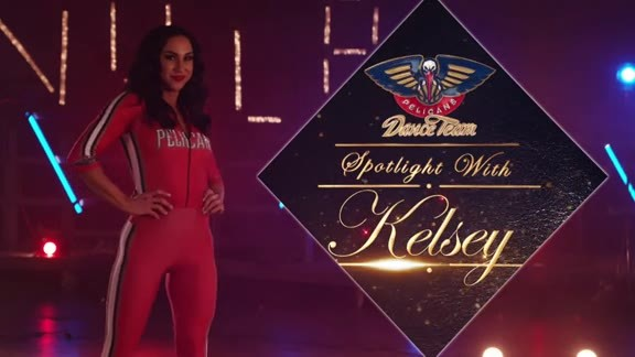 2018-19 Pelicans Dance Team Spotlight: Kelsey