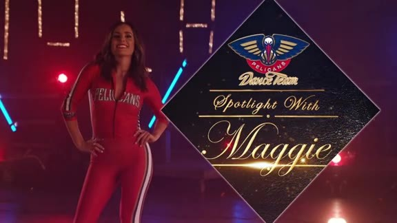 2018-19 Pelicans Dance Team Spotlight: Maggie