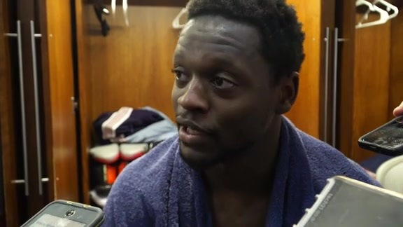 Pelicans vs. Kings Postgame: Julius Randle 3-28-19