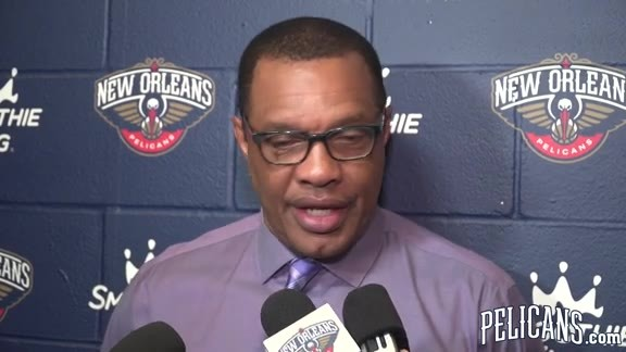 Pelicans-Lakers Postgame: Alvin Gentry 3-31-19
