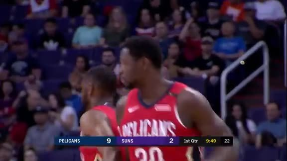 Julius Randle's Team-High 31 Points vs Phoenix | Pelicans-Suns Highlights