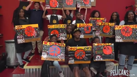 Painting with a Twist with the Elfrid Payton Foundation