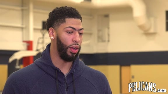 2018-19 Pelicans End of Season Media Availability: Anthony Davis