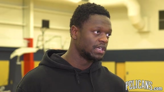 2018-19 Pelicans End of Season Media Availability: Julius Randle