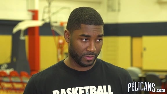 2018-19 Pelicans End of Season Media Availability: E'Twaun Moore