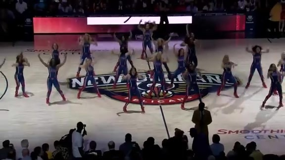 Pelicans Dance Team Performance 04-09-19