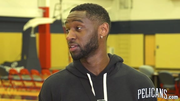2018-19 Pelicans End of Season Media Availability: Ian Clark