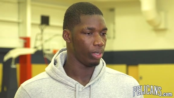 2018-19 Pelicans End of Season Media Availability: Cheick Diallo