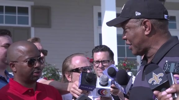 New Orleans Saints Hall of Fame Golf Tournament: Alvin Gentry