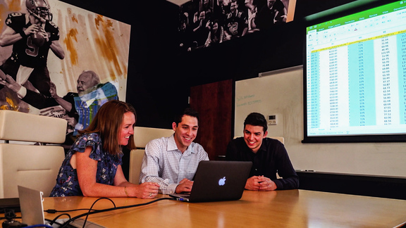 Immersive project has Tulane students working with Saints, Pelicans Business Analytics Department