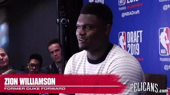 Zion Williamson Pre-Draft Media Availability Part 2