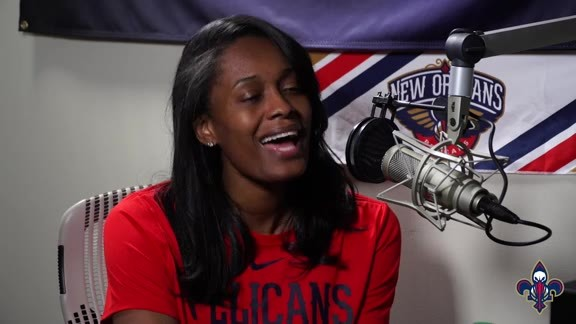 2019 NBA Draft: Pelicans' Swin Cash Interview 6-20-19