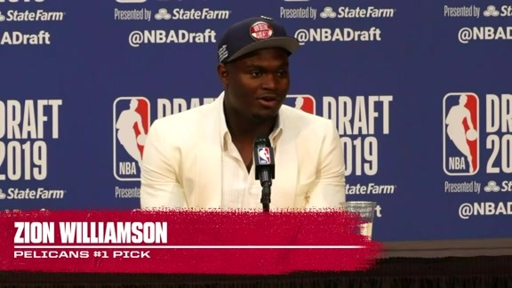 Zion Williamson's Post-NBA Draft Press Conference | 2019 NBA Draft