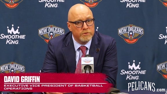 David Griffin Post-Draft Press Conference: Q and A