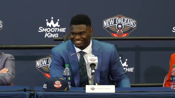 Zion Williamson Introductory Press Conference Q and A