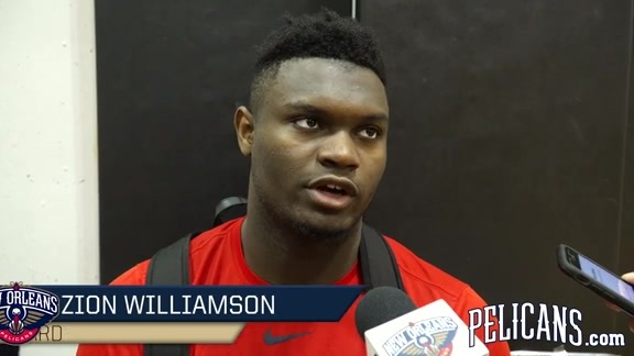 Pelicans Summer League Practice: Zion Williamson 7-4-2019