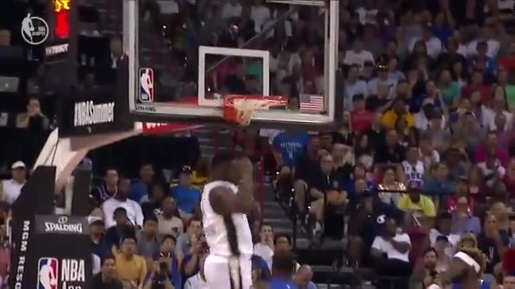 Zion's Dunks off the Bounce Pass vs Knicks | 2019 Summer League Highlights