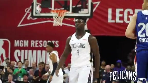 Pelicans-Knicks Summer League Highlights 7-5-2019
