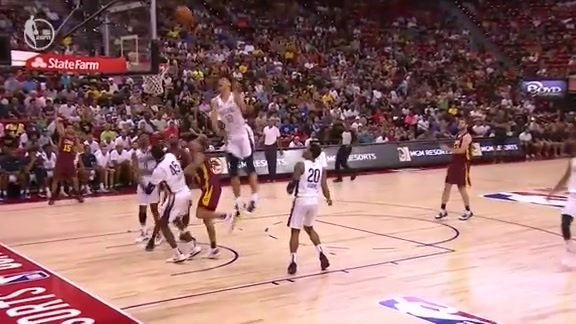 Jaxson Hayes Big-Time Block | Pelicans-Cavs Summer League