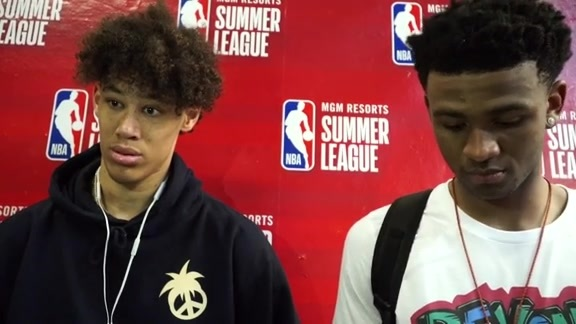 Summer League: Jaxson Hayes and Nickeil Alexander-Walker 7-13-19