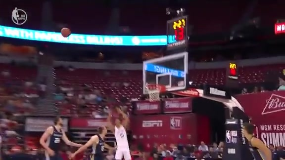 Jaxson Hayes Halfcourt Alley-oop | Pelicans-Grizzlies Summer League