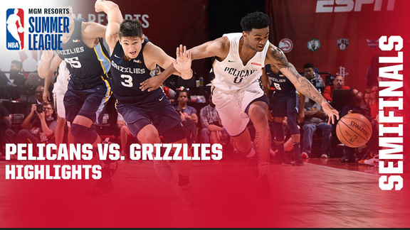 Highlights from Pelicans-Grizzlies Overtime Semifinal Game | 2019 Summer League