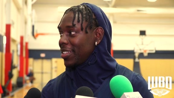 Pelicans-Jazz Shootaround: Jrue Holiday 10-11-2019
