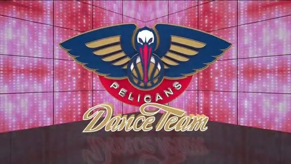 Entertainment: Pelicans Dance Team fourth quarter performance - October 11 vs. Utah Jazz