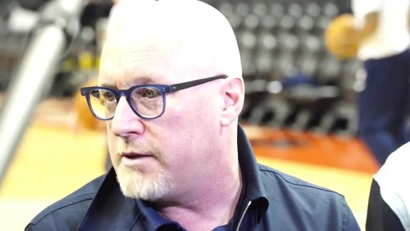 Executive Vice President David Griffin gives update on Zion Williamson | Pelicans Shootaround Interview