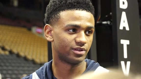 Pelicans Shootaround Interview: Nickeil-Alexander Walker 10-22-19
