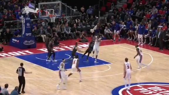 Pistons Playback crafted by Flagstar: Pistons vs Nets