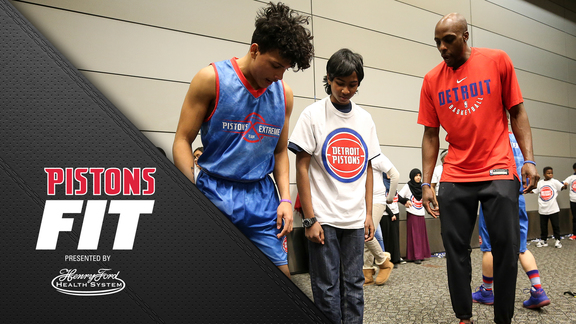 Pistons Fit: Generation with Promise Fit Clinic