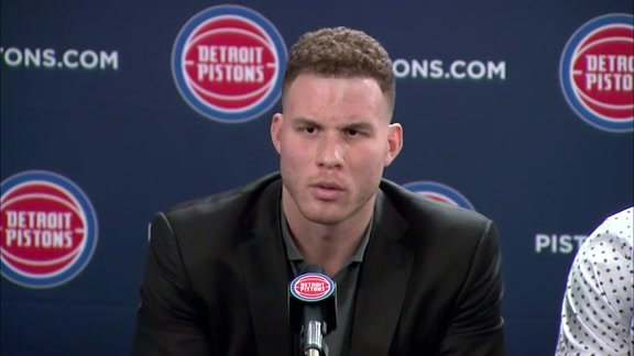The Front Office: Blake Griffin Press Conference