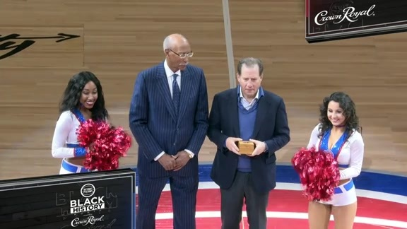 Black History Month pres. by Crown Royal Honoree: Dave Bing