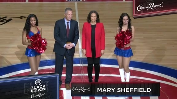 Black History Month pres. by Crown Royal: Mary Sheffield