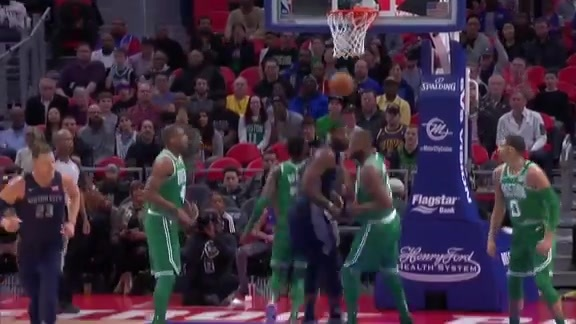 Pistons Playback, crafted by Flagstar: Pistons vs. Celtics