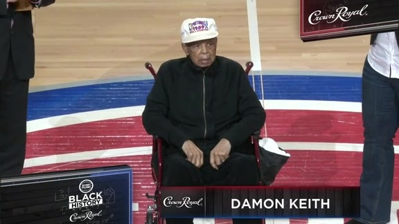 Black History Month pres. by Crown Royal Honoree: Damon Keith