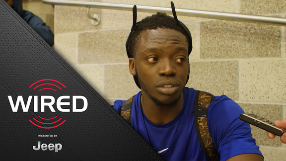 Wired presented by Jeep: Reggie Jackson Practices